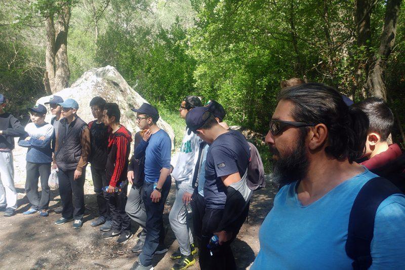 Anadolu Kanyonları Belgesel Ekibi 23 Nisan'da Genç İzcilerle Kıbrıs Kanyonundaydı